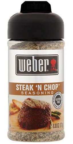 Weber Grill Seasoning Steak'N Chop 6 ounce (pack of 2)