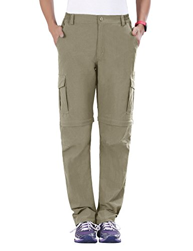 Unitop Women's Hiking Pants Quick Dry Convertible