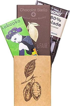 3 Besondere Bio Tafeln Schweizer Schokolade 92 Von Stellazotter
