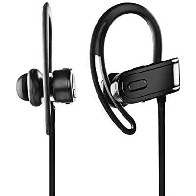 Mobility Sport XS In-Ear Wireless Bluetooth Headphones - Noise Cancelling Sweatproof Wireless Headset - Best Earphones for Gym, Running, and Exercise