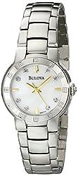 Bulova Women's 96R173 Diamond Case Watch