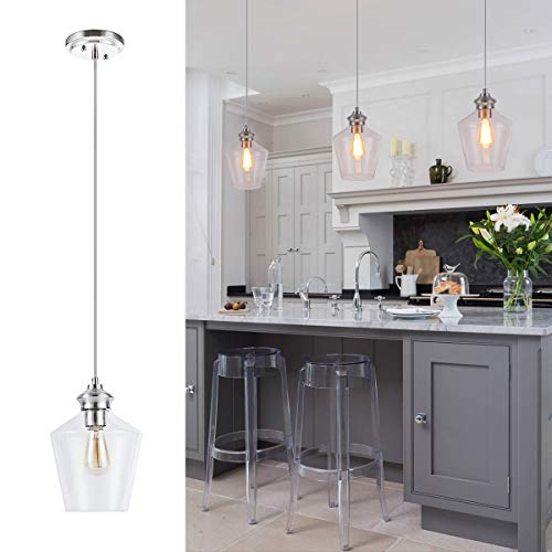 Blown Glass Pendant Lighting For Kitchen in US - 3
