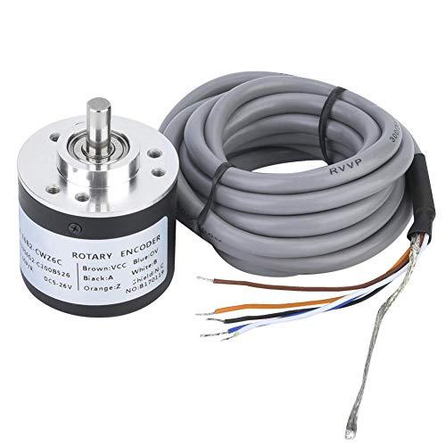 E6B2-CWZ6C Incremental Rotary Encoder,General-Purpose Encoder 38mm Diameter for - Module 200p