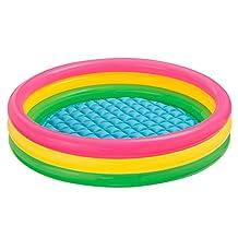 Intex Kiddie Pool - Kid's Summer Sunset Glow Design