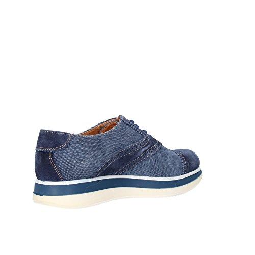 JACKAL Zapatos Elegantes Mujer 40 EU Azul Gamuza Textil AG863