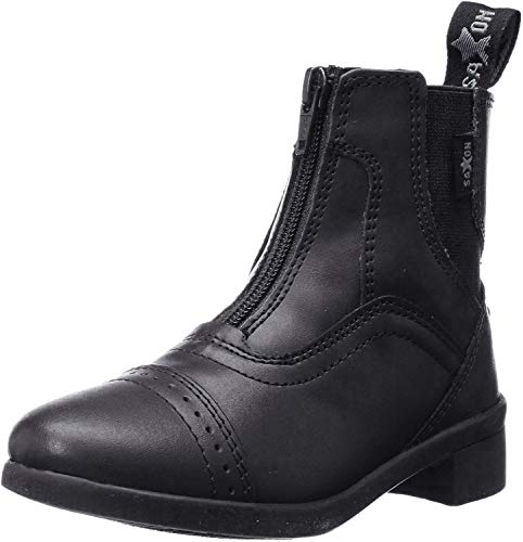 Saxon Childs Syntovia Zip Paddock Boot 3 Black