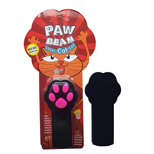 Kiloid Cat Paw Pattern LED Light Laser Pointer Play Toy Toys (Play Laser)