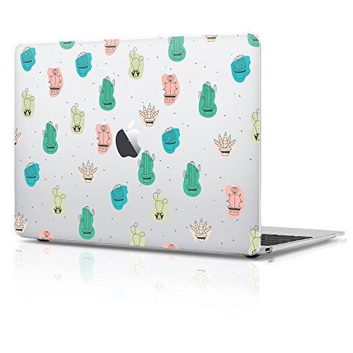 MacBook Air 27,9cm de plástico mate estuche duro, Desierto Cactus con teclado Diseño