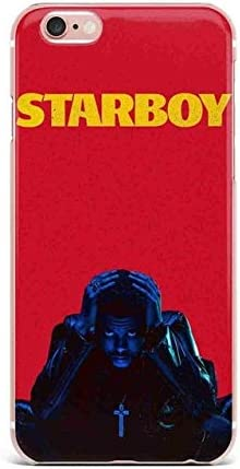 Rouge Jaune Starboy Coque iPhone 5 Coque The Weeknd XO 5S 5 SE ...