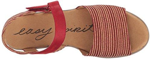 Esprit Facile Femmes Kala5 Wedge Sandale Rouge Multi / Rouge Ck
