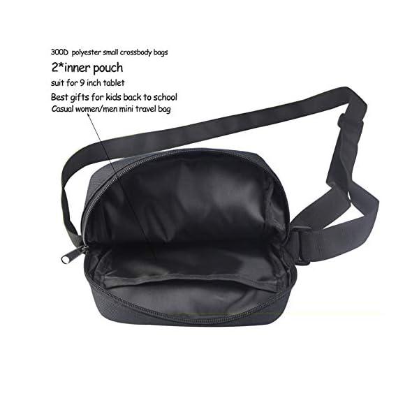 Coloranimal Petit sac à bandoulière tendance en 3D avec motif animal chien et chat pour femme