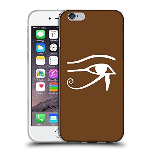 "GoGoMobile Coque de Protection TPU Silicone Case pour // Q09590633 Horus eye 2 Sépia // Apple iPhone 6 PLUS 5.5"""