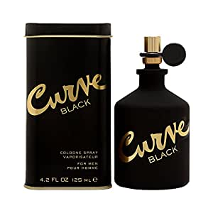 Liz Claiborne Curve Black Cologne Spray for Men, 4.2 Ounce