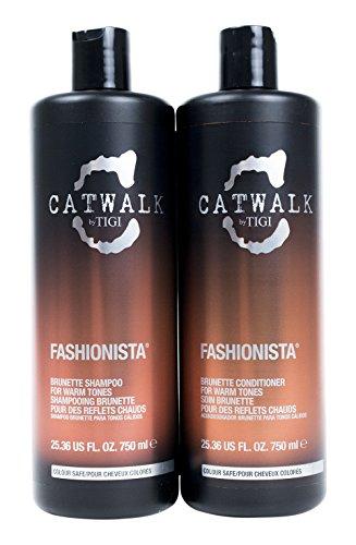 Tigi Catwalk Shampoo and Conditioner, Fashionista Brunett...