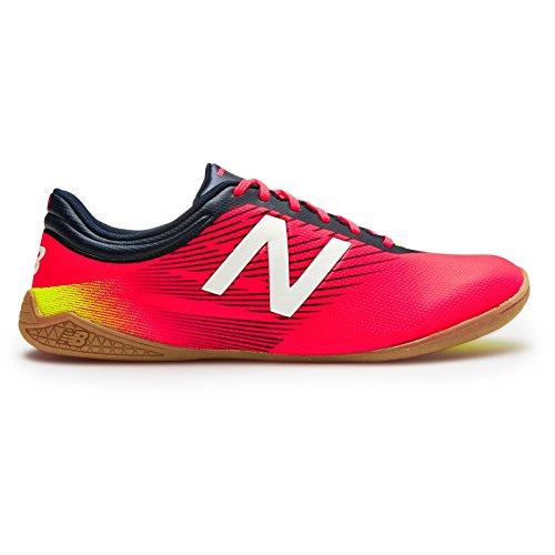 New Balance - Botas de fútbol para hombre rot / schwarz / gelb