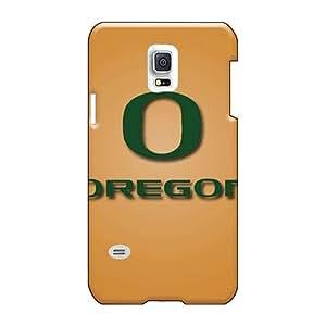 Shock-Absorbing Hard Phone Case For Samsung Galaxy S5 Mini With Custom Realistic Oregon Ducks Pattern RichardBingley