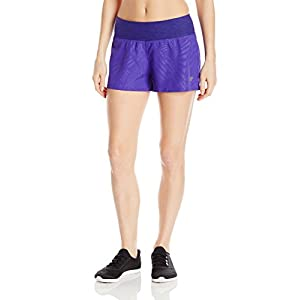 New Balance Womens woven Fashion Short, Spectral, Large