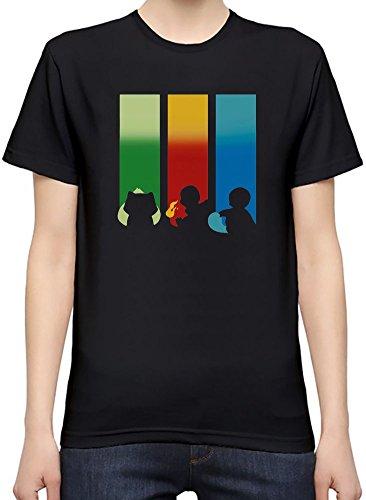RGB-Bulbasaur-Charmander-Squirtle-Camiseta-Mujeres