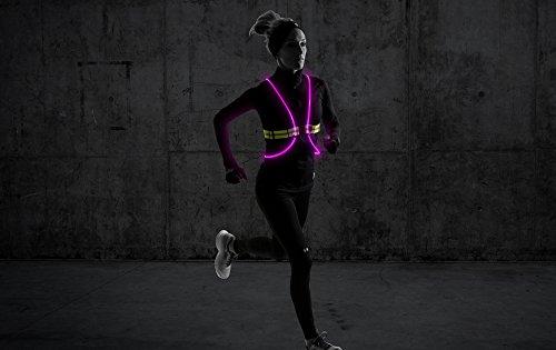 NoxGear Tracer360 - Visibility LED Illuminated Vest  M/L - ( S,M/L,XL Avl.)