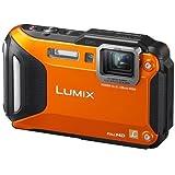 Panasonic Lumix DMC-FT5 Tough Shock & Waterproof Wi-Fi GPS Digital Camera (Orange)