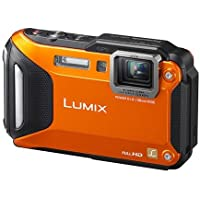 Panasonic Lumix DMC-FT5 Tough Shock & Waterproof Wi-Fi GPS Digital Camera (Orange) Review Review Image