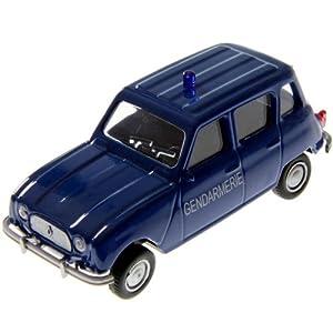 Renault 4L gendarmerie échelle 1/43