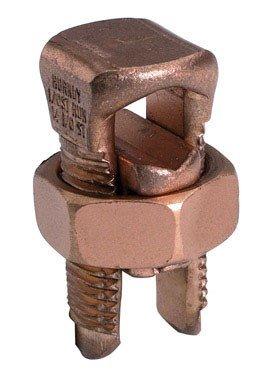 Burndy Split Bolt Connector Ul 4 Awg Clamshell 3 / Clamshell
