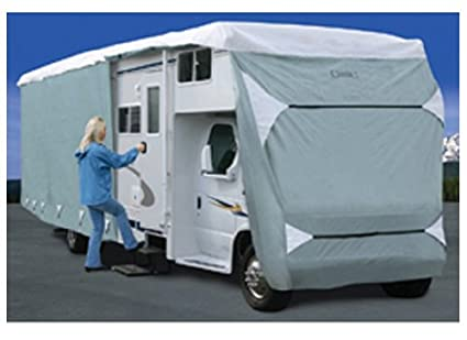 26/' RVs 79363 Classic Accessories OverDrive PolyPro 3 Deluxe Class C RV Cover Fits 23-26 RVs Fits 23/'