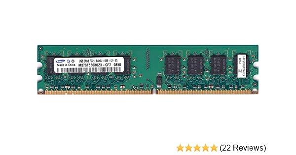Samsung RAM Memory Module DDR2 800 2 GB C6 1.8V