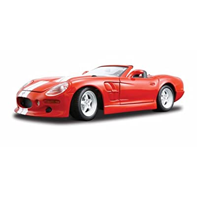 Maisto 1:18 Scale Shelby Series One Diecast Vehicle (Colors May Vary): Toys & Games