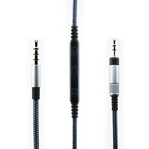 Feiyen Ersatzkabel Für Bose Quietcomfort 25 35 Qc25 Qc35 Kopfhörer Lautstärkeregler Und Mikrofon Für Iphone Ipod Ipad Apple Geräte Gewerbe Industrie Wissenschaft