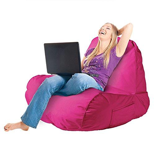 The Original Comfy Chair Indoor Outdoor Lounge Foam Filli...