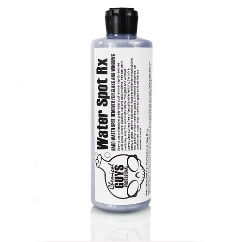Hard Water Spot Remover - Chemical Guys SPI_886_16 Water Spot Rx Hard Water Spot Remover for Glass and Windows (16 oz)