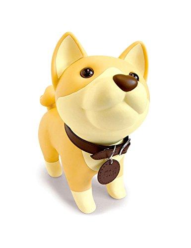 DomeStar Cute Dog Bank, Shiba Inu Coin Bank Kids Toy Bank Doggy Puppy Piggy Bank for Girls -