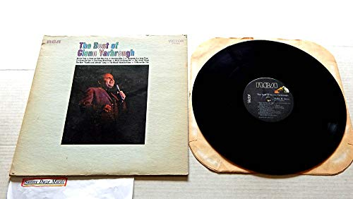 The Best Of Glenn Yarbrough - RCA Records 1970 - Used Vinyl LP Record - 1977 Reissue Pressing AFL1-4349 - Baby the Rain Must Fall - What You Gonna Do - The Lonely Things - The Honey Wind Blows (Glenn Yarbrough Baby The Rain Must Fall)