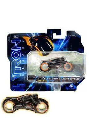Tron Legacy Series 1 Die Cast Vehicle Clus Sentrys Light Cycle