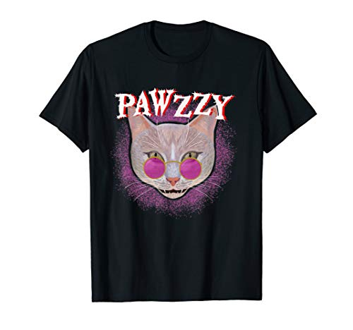 Cat Lover Metal Music Shirt - Ginger Kitty