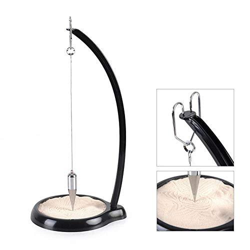- Volwco Sand Pendulum, Sand-tracing Pendulum, Pit and Pendulum Sand, Sand Painting Pendulum Home Decoration Living Room Bedroom Office Ornament, Plastic Iron Plating, 15 Inch