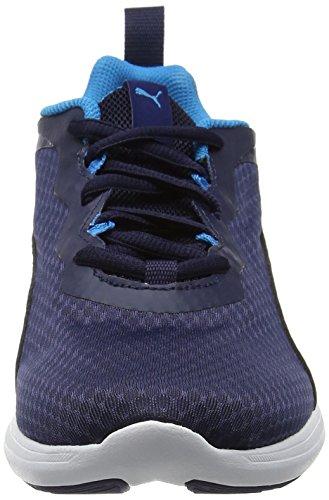 Puma Unisex-erwachsene Pacer Evo Low-top Blau (peacoat-peacoat 03)