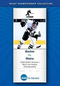 1995 NCAA(r) Division I Men's Ice Hockey Championship - Boston vs. Maine