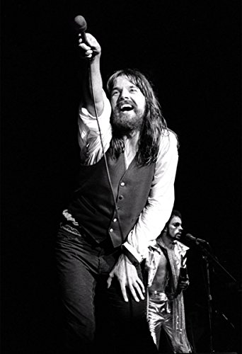 Bob Seger Poster Black And White Print