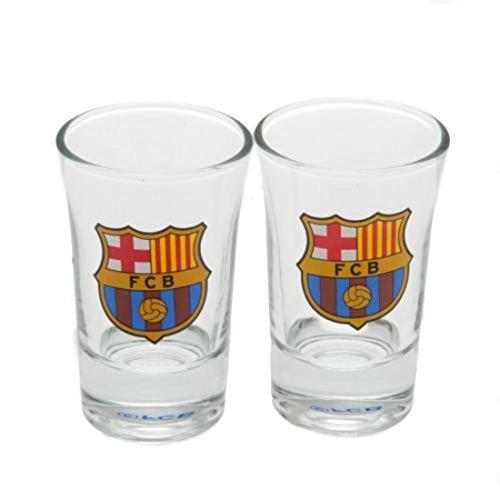 (F.c. Barcelona 2pk Shot Glass Set)