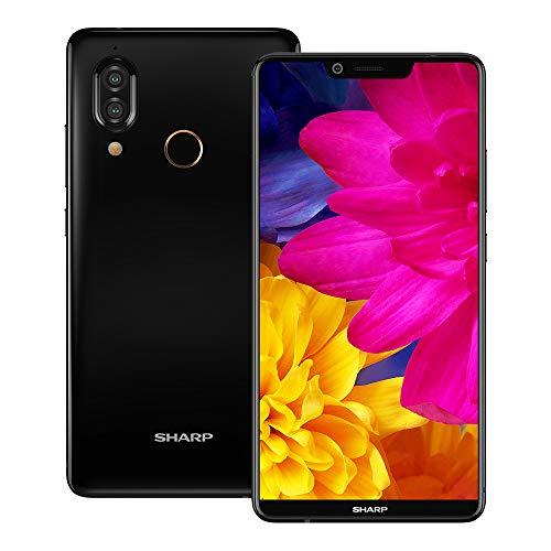 Sharp AQUOS S3 (FS8032) 4GB / 64GB 6.0-inches Dual SIM Factory Unlocked - International Stock No Warranty (Black)