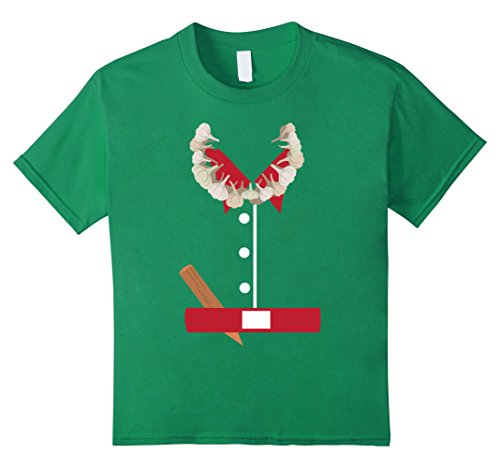 Kids Vampire Hunter Halloween Costume T-Shirt Funny 10 Kelly Green