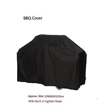 BBQ Cover Funda protectora para barbacoa, barbacoa cubierta a prueba de agua - Protección contra