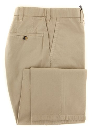 cesare-attolini-beige-solid-pants-slim-32-48