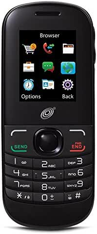 TracFone Alcatel A205G No Contract Phone - Retail Packaging - Black