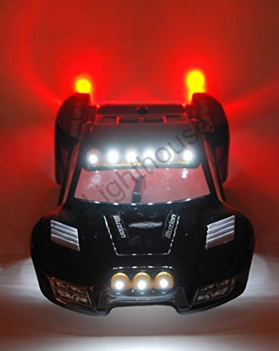 - Traxxas Slash 4x4 2WD Ultimate LED Light Set. Will fit SC10 or other SC vehicles #8 - BODY NOT INCLUDED