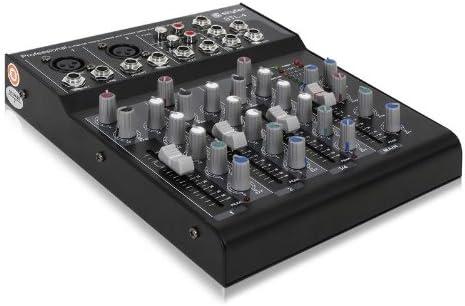 Skytec STL-4 Mesa de Mezclas DJ Estudio Profesional de 4 Canales ...