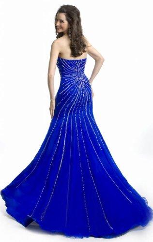 Passat Women's Long Sleeve Sequin Mini Dress Size US8 Color Blue
